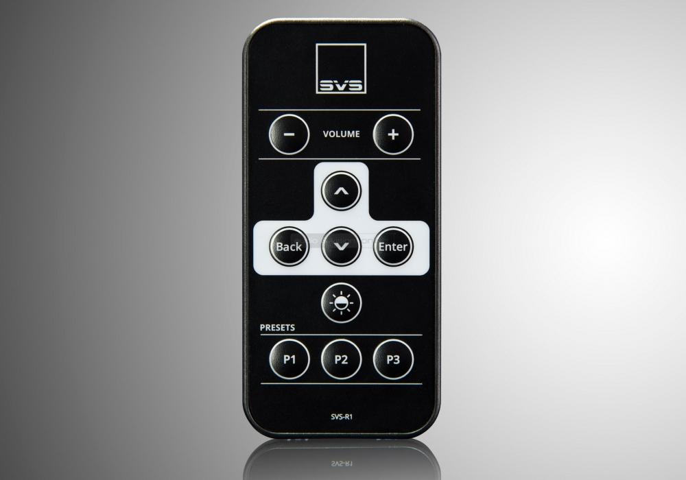 SVS-SB16-Ultra-remote  SVS SB16-Ultra aktív mélyláda teszt SVS SB16 Ultra remote